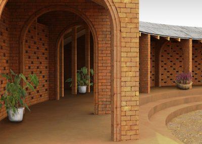 archway - public space school Malawi